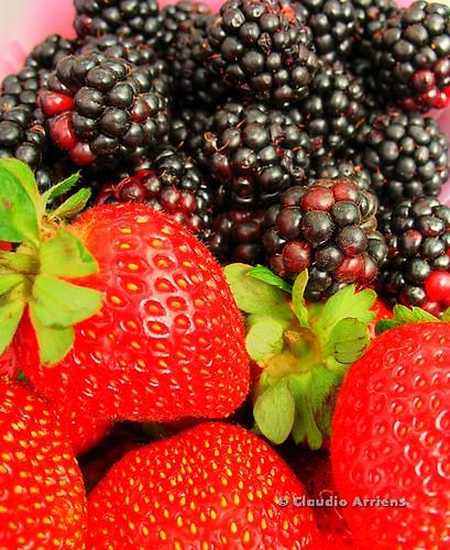 Frutas em technicolor