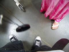 me and mom's feet