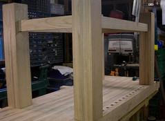 IMG_0341 (ShaneDugas) Tags: wood clamp redoak workbench vise tailvise facevise endvise