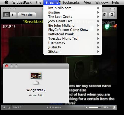 Widget Pac for Windows