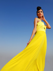 Shoot for Farah Asad (Fayyaz Ahmed) Tags: pakistan portrait girl fashion yellow nikon karachi instep fauzia farahasad