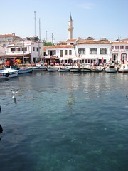 Bozcaada fishing harbour (bilyoblak) Tags: turkey bozcaada