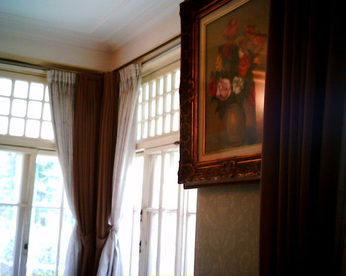 【写真】VQ1005で撮影した田園調布の家(大川邸)のリビング