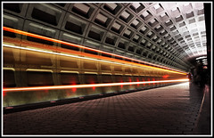 foggy-metro (frozenchipmunk) Tags: longexposure public subway washingtondc dc washington publictransportation blueline metro bottom foggy transportation dcist foggybottom