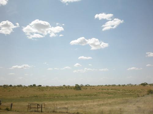 texas sky.