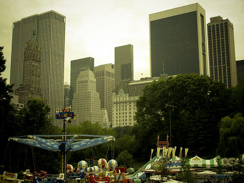 View form Central Park