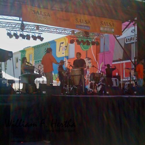 Salsa on St. Claire Street festival, Toronto