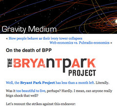 On the death of BPP | Gravity Medium_1216343338131