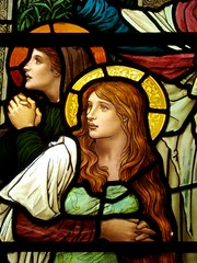 Mary Magdalene (Aidan McRae Thomson) Tags: church grasmere lakedistrict stainedglass cumbria henryholiday