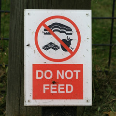 DO NOT FEED (Leo Reynolds) Tags: zoo signcirclebar groupno signsafety canon eos 30d 0003sec f71 iso100 110mm 0ev xleol30x signno hpexif xratio1x1x xsquarex xxx2008xxx sign