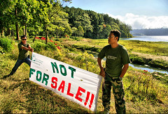 Keep The Nature Save ! (Bali Orange Communications) Tags: lake buyan