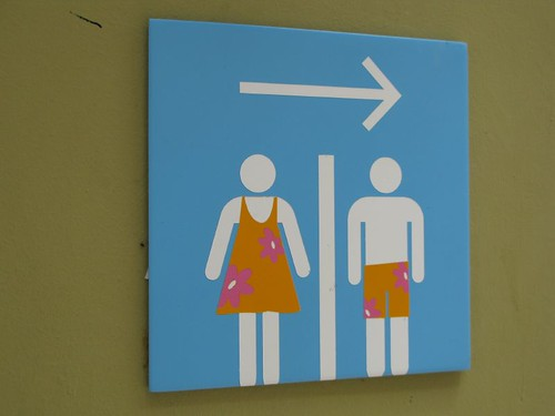 Politically correct Bathroom sign