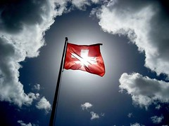 August First! (losy) Tags: alps schweiz suisse suiza swiss flag fahne feiertag onblue swissmountains rhizome 1august swissnationalday suizza 35faves schweizernationalfeiertag losy aplusphoto 1ofaugust whitecrossonredistheswissflag redcrossonwhiteyepthatstheoneyouneedinemergencies flickrtravelaward
