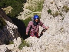 Escalade aux dentelles de Montmirail (_Bapt748) Tags: france escalade lubron dentellesdemontmirail verticoolescalade