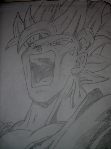 goku super saiyan drawings