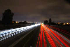 880 faster (pbo31) Tags: california above longexposure light red summer usa black color northerncalifornia night america dark moving movement lowlight nikon highway traffic infinity over overpass august move line freeway sanfranciscobayarea bayarea eastbay hayward expressway d200 2008 traffictrails tennyson 880 lightstream golddragon