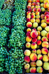 Mount Hada Fruits (Shakir's Photography) Tags: green fruits yellow stand peach tasty fresh mount delicious saudi arabia grape hada   shanko  taif