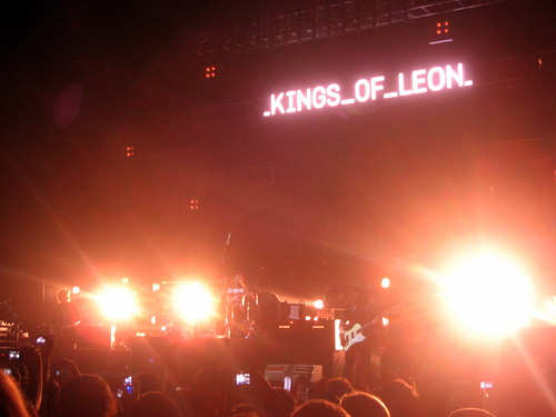 Kings Of Leon on tour