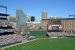 Oriole Park at Camden Yards (by: dvwtwo, creative commons license)