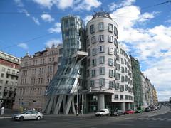 Prague - Dancing house (furibond) Tags: architecture gehry dancinghouse praguepraha