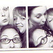 Liz Andrade, Ashley Genevieve and Laura Marchbanks Photobooth