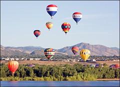 rocky mtn balloon festival (Rich'sPics) Tags: colorado hotairballoons chatfieldstatepark rockymountainballoonfestival canon40d