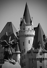 A Chateau tower I love to shoot so often (Live4sports) Tags: bw ontario canada ottawa soe fairmontchateaulaurier live4sports