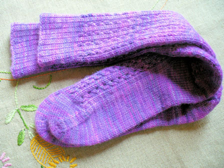 PurplePassionSocks