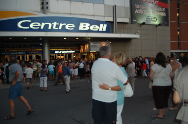 celine dion - centre bell - 31 aout 2008 by yahoo! quebec promotion