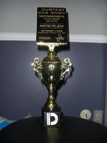 My First Autox Trophy