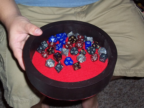 how to make dice tray