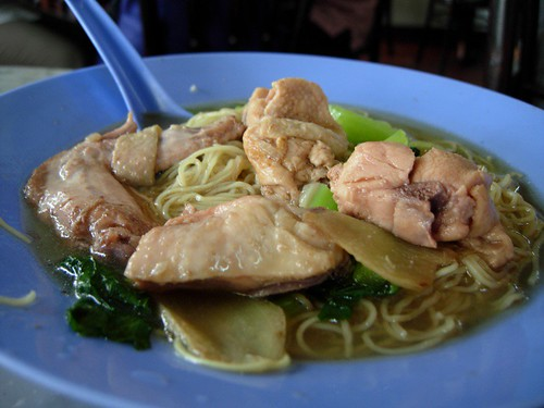 drunken chicken wantan mee