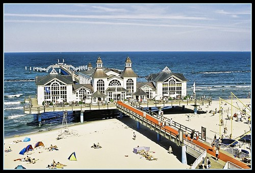 Red Carpet to the Pier - Architecture Sellin Ruegen Island (Germany)