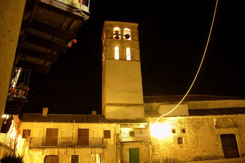 Plaza Mayor de Pedraza y torre de San Juan