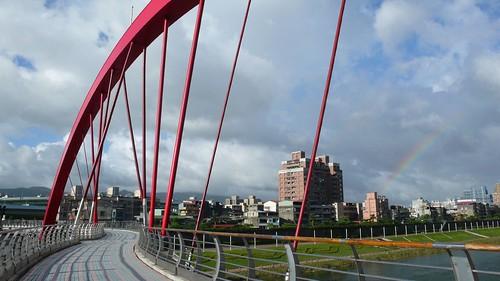 彩虹橋看彩虹