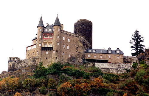 St. Goarshausen - Burg Katz