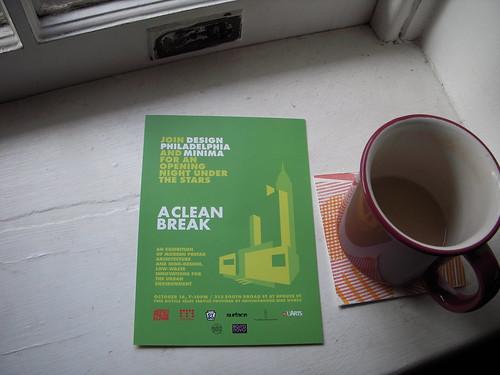 A Clean Break postcard