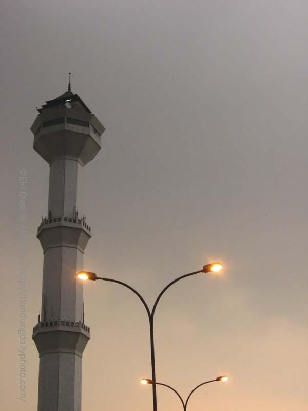 MENARA MASJID AGUNG BANDUNG 1 (bandung grand mosque tower)