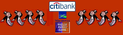 Who's On First? Citibank? Wells Fargo?
