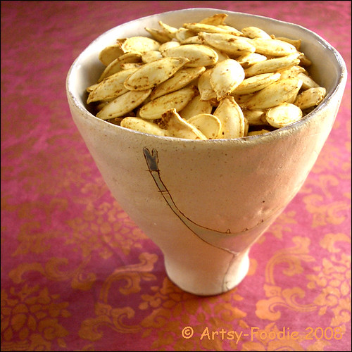 pumpkin seeds cup