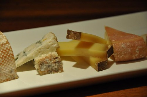 Side View: Cheese Platter
