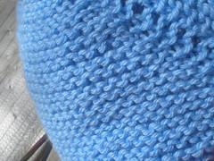 Bodice, garter stitch