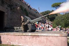 Mezzogiorno di fuoco (Giulietto86) Tags: rome roma shot cannon midday fuoco fumo gianicolo cannone mezzogiorno sparo