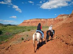 Horseback riding at Torrey, Utah (dremle) Tags: utah horsebackriding torrey waterpocketfold