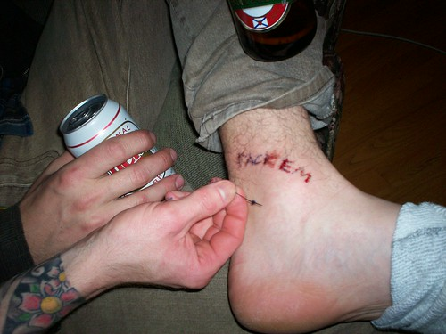 Misled · SK8tatFinal · home tattoo
