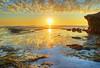 San Diego - Sunset Cliffs (mojo2u) Tags: ocean california sunset beach sandiego pacificocean lowtide 1001nights hdr seagrass sunsetcliffs sandiegosunset photomatrix nikon1855mm nikond80 absolutelystunningscapes