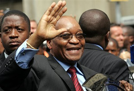 ANC President Jacob Zuma visited the United States in late October 2008. He was reported to have reassured the business and political leadership that the situation in South Africa is stable. by Pan-African News Wire File Photos