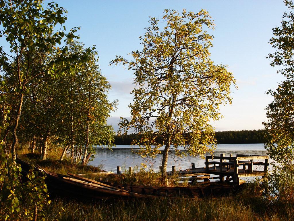 Evening mood at Huttujärvi