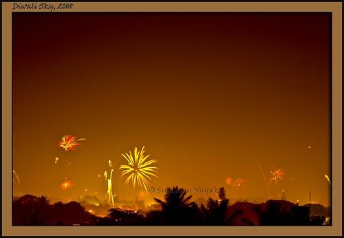 Diwali Sky