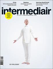 coverdesign Intermediair magazine (jaap!) Tags: blue red usa white illustration magazine photography elections obama barrack intermediair saintcoverdesign